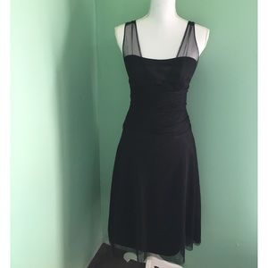 After Six Black Formal Midi Dress